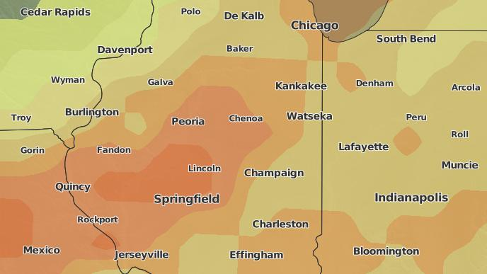3-Day Severe Weather Outlook: Stanford, Illinois - The