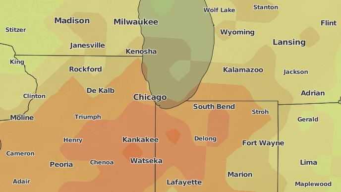 3-Day Severe Weather Outlook: Chicago, Illinois - The