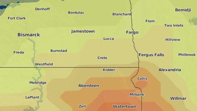 for Cayuga, North Dakota