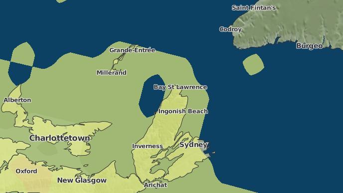 pour Pleasant Bay, Nouvelle-Écosse