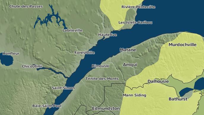 pour Pointe-à-Boisvert, Québec