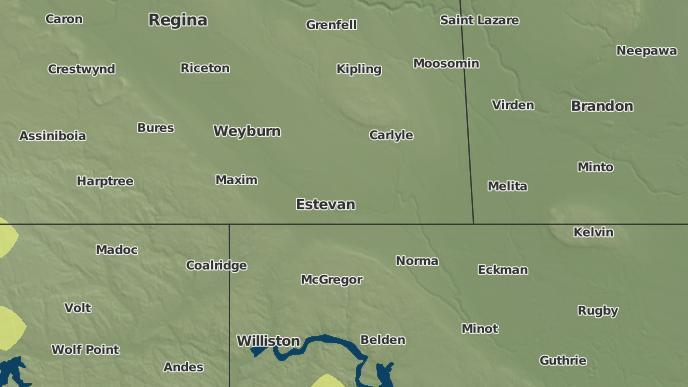 for Estevan, Saskatchewan