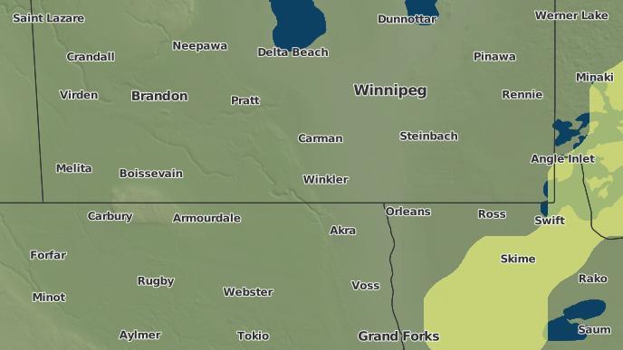 pour Deerwood, Manitoba