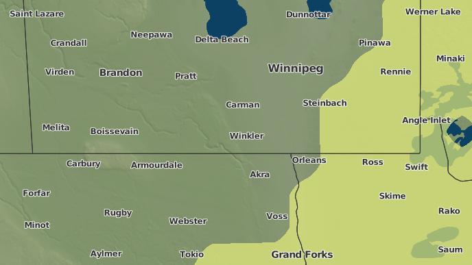 for Darlingford, Manitoba