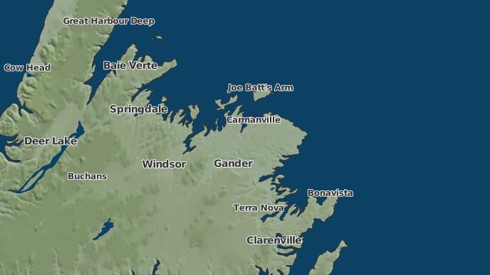 for Comfort Cove-Newstead, Newfoundland and Labrador