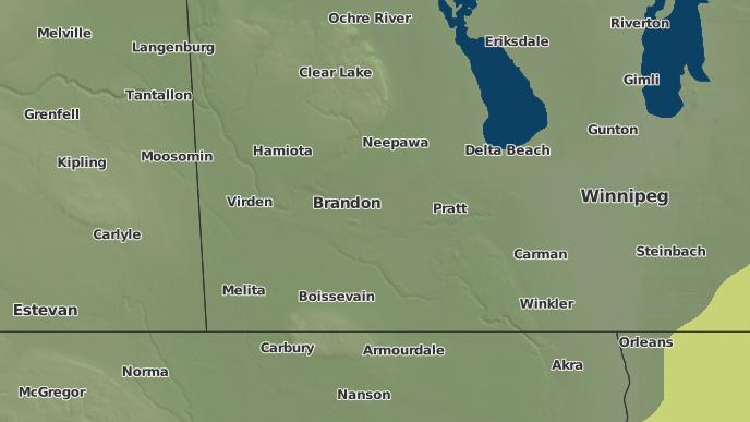 pour Victoria, Manitoba