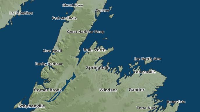 for Middle Arm, Newfoundland and Labrador