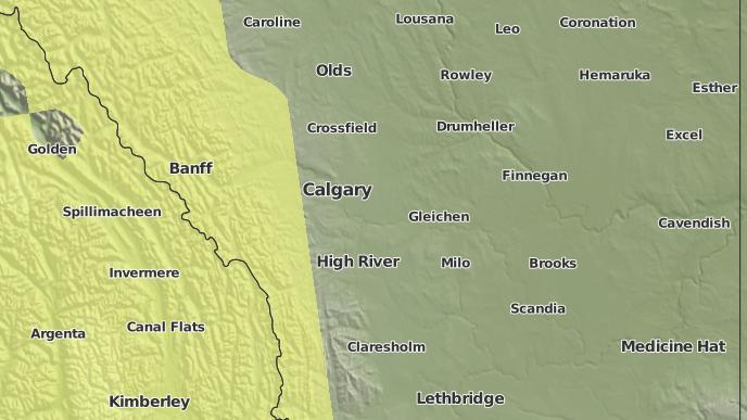 for Strathmore, Alberta