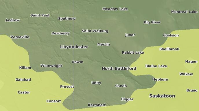 for Battle River No. 438, Saskatchewan