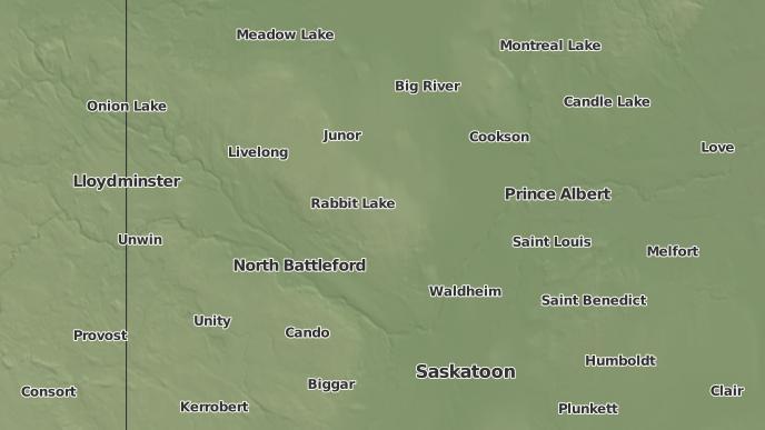 for Muskeg Lake I.R. 102K, Saskatchewan