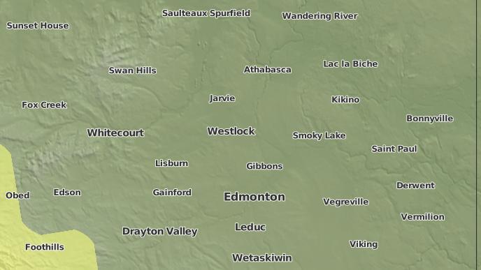 pour Radway, Alberta