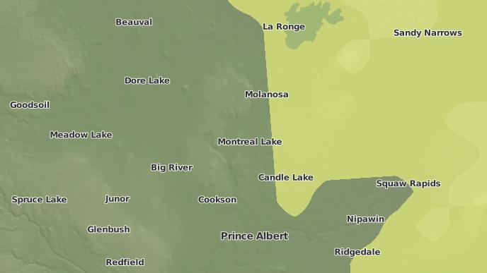 for Montreal Lake, Saskatchewan