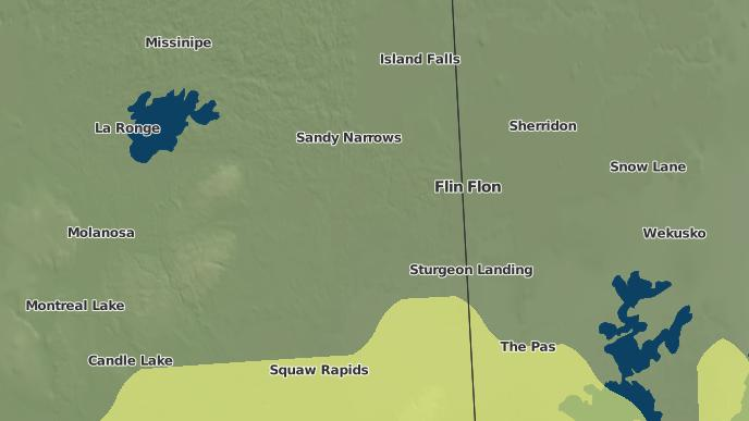 for Amisk Lake I.R. 184, Saskatchewan