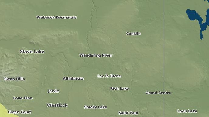 for Heart Lake 167, Alberta