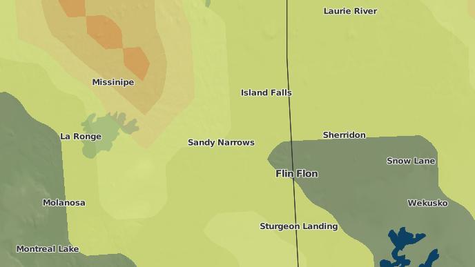 pour Nemekus Sakahikan Indian Reserve No. 221, Saskatchewan