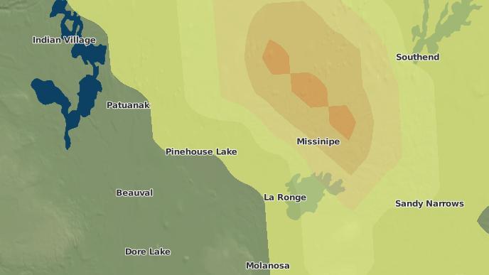 pour Pinehouse, Saskatchewan