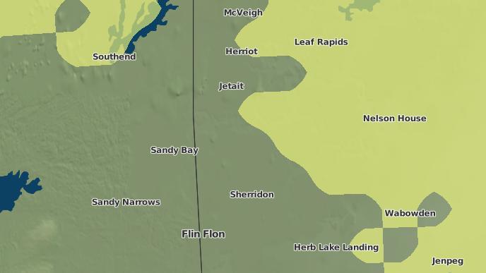 pour Pukatawagan 198, Manitoba