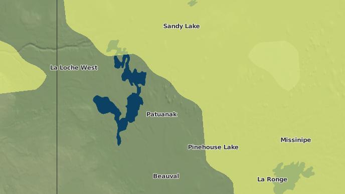 for Primeau Lake I.R. 192F, Saskatchewan