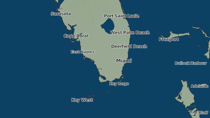 Margate Florida Map.3 Day Severe Weather Outlook Margate Florida The Weather Network