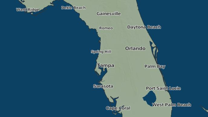 Mulberry Florida Map.3 Day Severe Weather Outlook Mulberry Florida The Weather Network