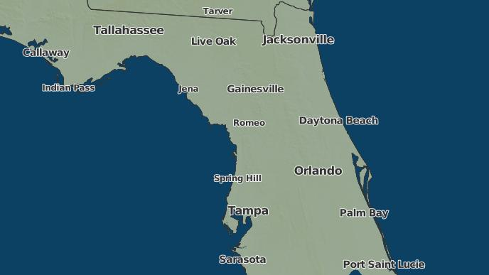 Inverness Florida Map.3 Day Severe Weather Outlook Inverness Florida The Weather Network