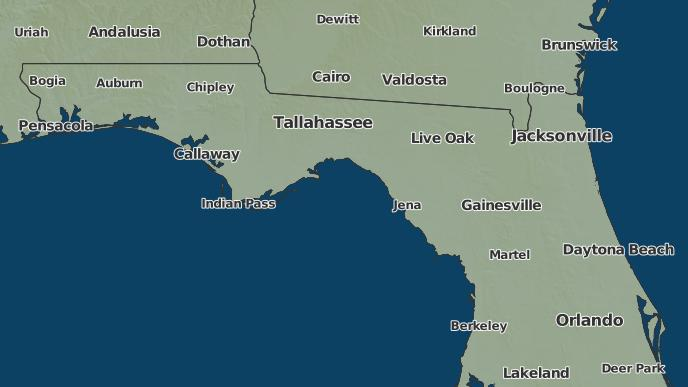 Panacea Florida Map.3 Day Severe Weather Outlook Panacea Florida The Weather Network