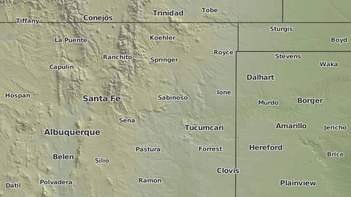 3 Day Severe Weather Outlook Corazon New Mexico The Weather Network