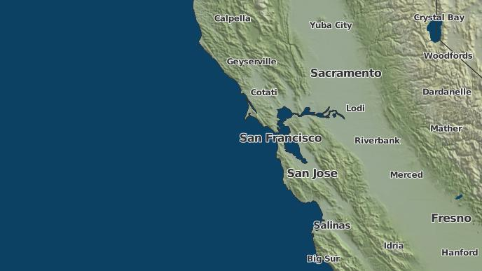 3 Day Severe Weather Outlook Colma California The Weather Network
