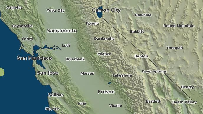 Bear Valley Ca >> 3 Day Severe Weather Outlook Bear Valley California The