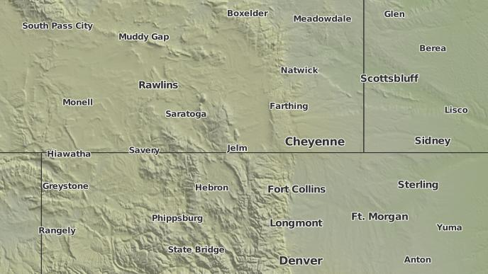 3 Day Severe Weather Outlook Buford Wyoming The Weather Network
