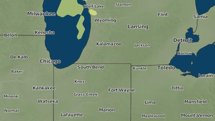 Buchanan Michigan Map.3 Day Severe Weather Outlook Buchanan Michigan The Weather Network