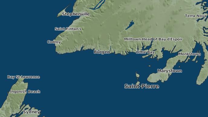 for Ramea, Newfoundland and Labrador