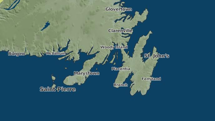 for Gallardin Point, Newfoundland and Labrador