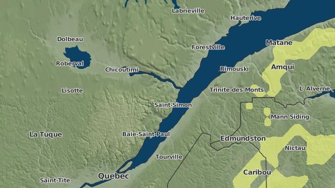 for Cacouna-Est, Quebec