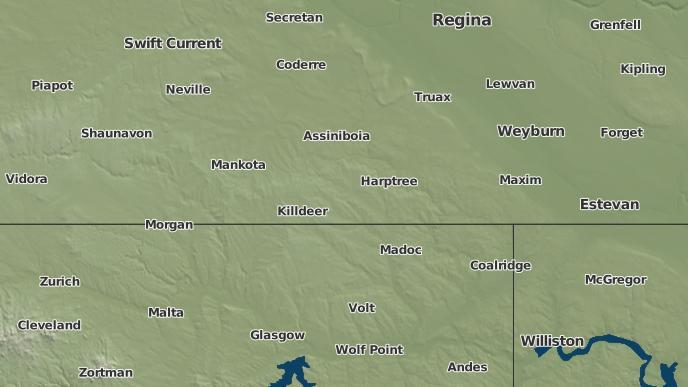 for Coronach, Saskatchewan