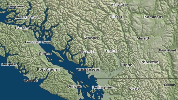 for Squamish, British Columbia