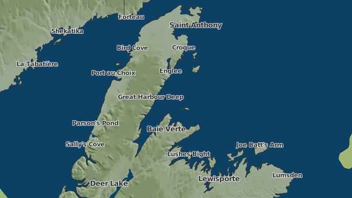 pour Great Harbour Deep, Terre-Neuve-et-Labrador
