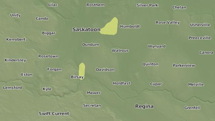 pour Arm River No. 252, Saskatchewan