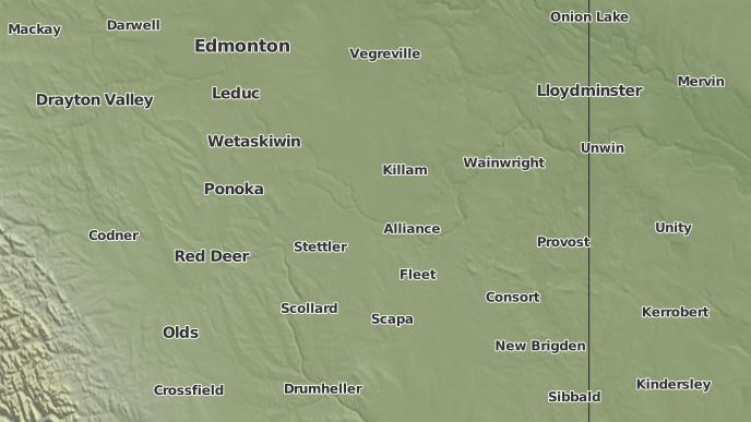 pour Halkirk, Alberta