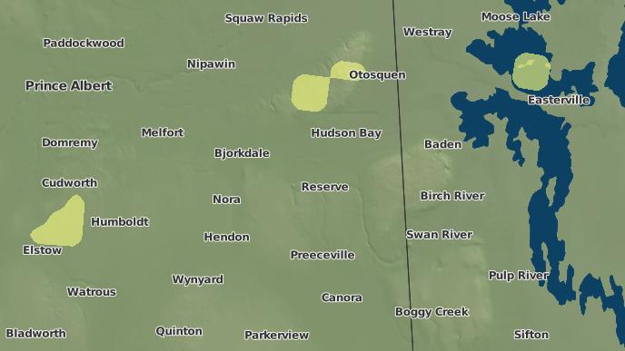 pour Porcupine Plain, Saskatchewan