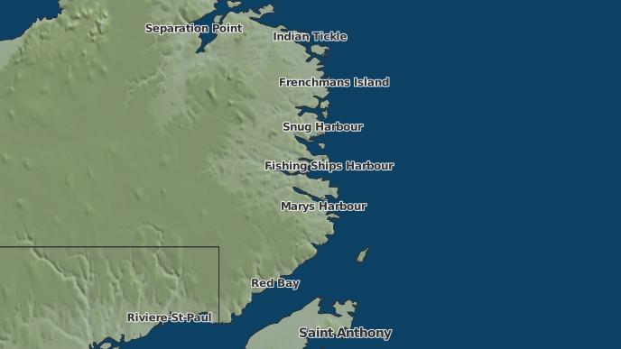 for Mary's Harbour, Newfoundland and Labrador