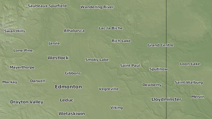pour Ispas, Alberta