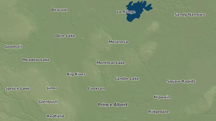 pour Waskesiu Lake, Saskatchewan