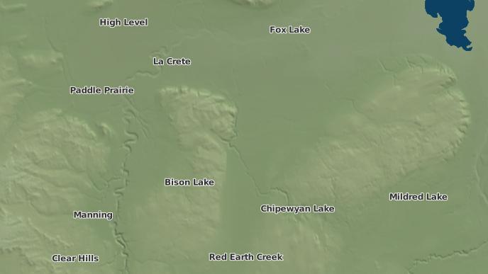 pour Wadlin Lake 173C, Alberta