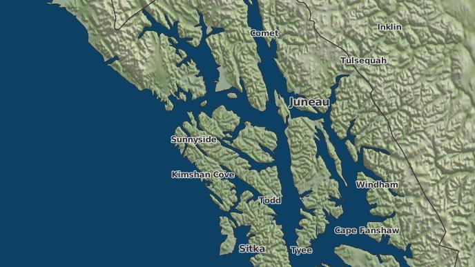 Huna Alaska Map.3 Day Severe Weather Outlook Hoonah Alaska The Weather Network