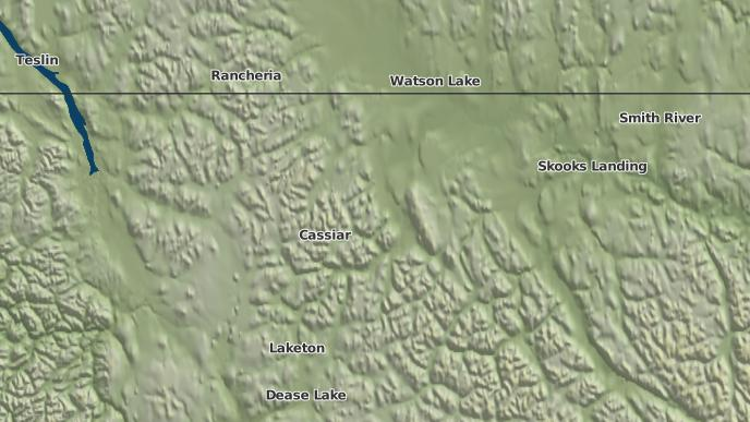 for Dease River 2 (Dease), British Columbia