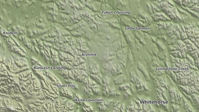 pour Aishihik, Yukon