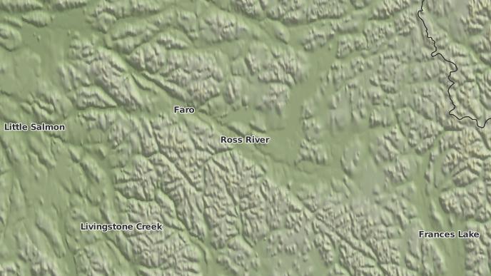 pour Ross River, Yukon