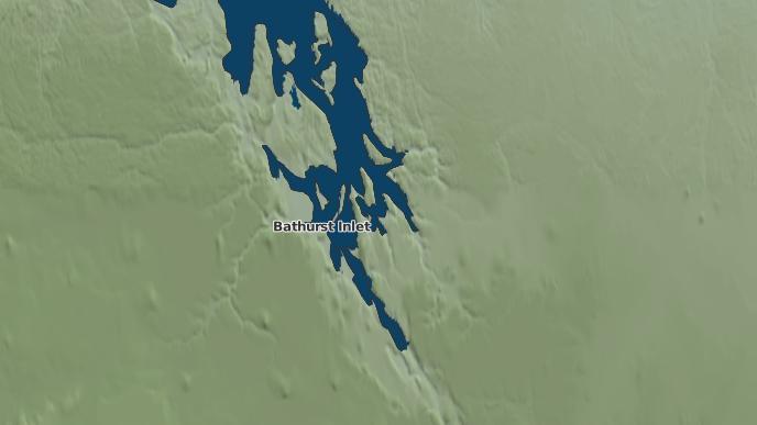 for Bathurst Inlet, Nunavut