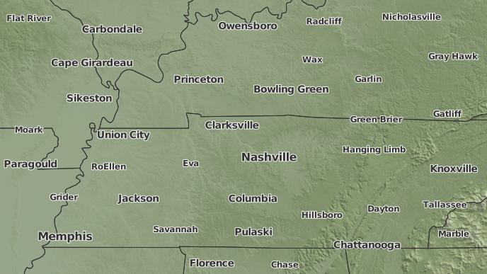 Portland Tennessee Map.3 Day Severe Weather Outlook Portland Tennessee The Weather Network